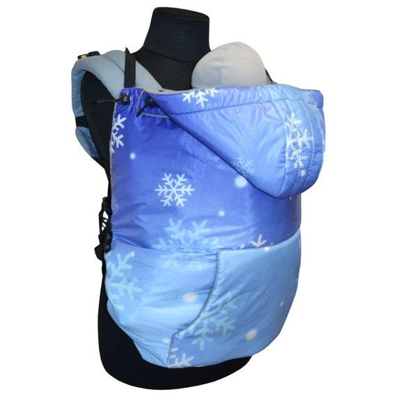 Spring//autumn Blue Babywearing Coat Extender