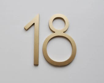 Attrayant Popular Items For Metal House Numbers