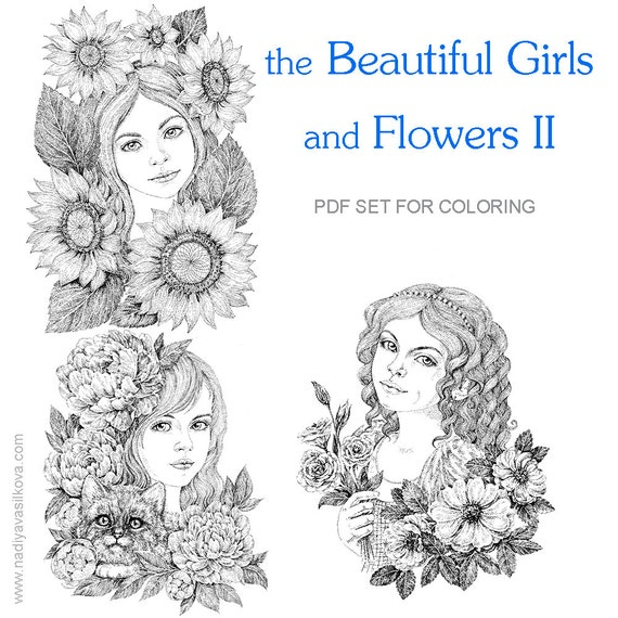 Printable Coloring Pages Set \