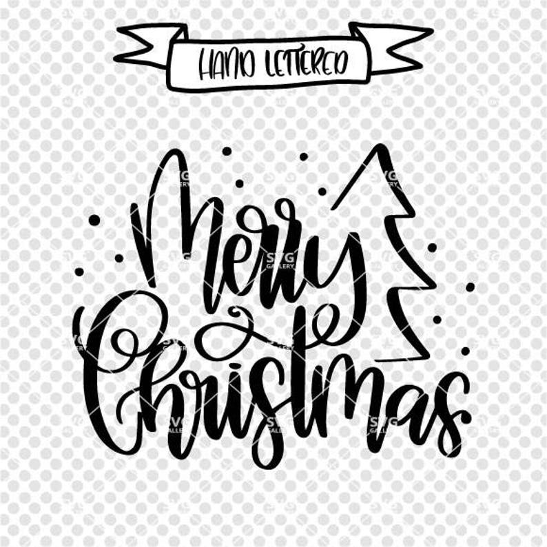 Merry Christmas svg Christmas SVG Digital cut file winter image 0