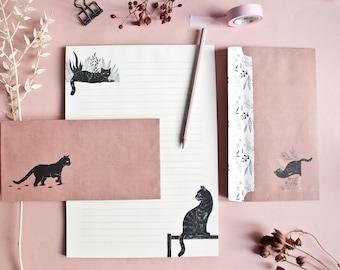 Letterpaper Set Cats