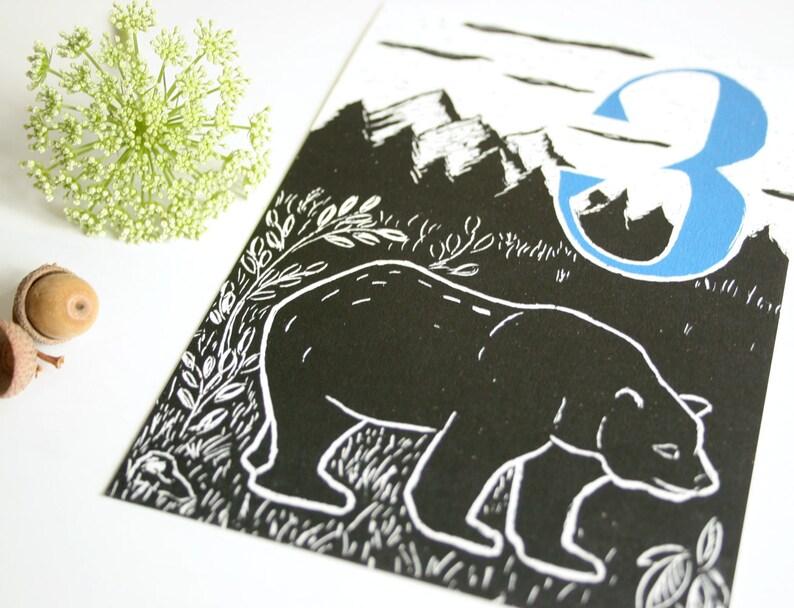 birthday cards for children Custom postcard set