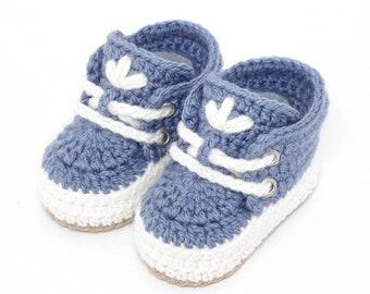 sports shoes 737bf 62779 Blau babyschuhe | Etsy