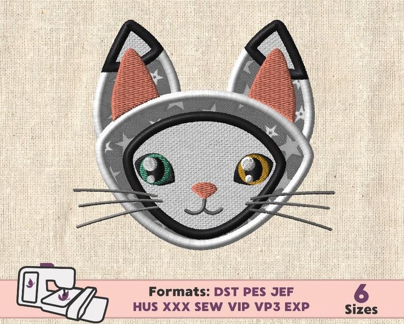 CAT APPLIQUE DESIGN Cat Embroidery Machine Applique Pattern Kitty Applique Embroidery Machine Design Cat Kitty Embroidery Easter Kid boy Cat