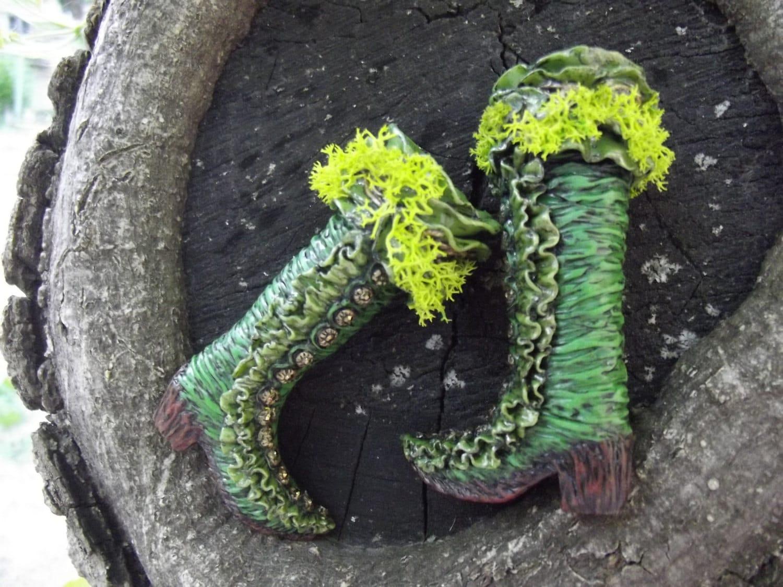 Miniatura  botas  'Colorido 'Colorido 'Colorido verdor de la primavera' 6cc042
