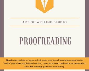 Proofreading | Etsy