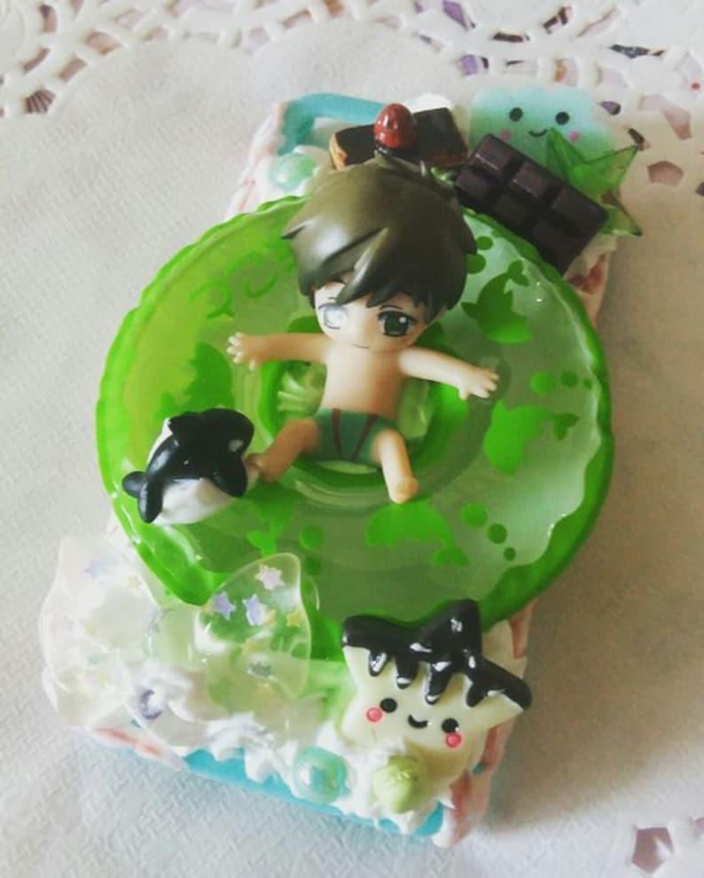 Iwatobi Swim Club Decoden IPhone 44s Case Makoto Free