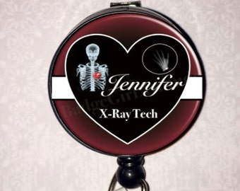 Personalized Badge Reel Xray Tech