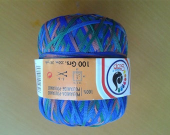 Ball thread multicolor Ribbon 500gr Wool Stop