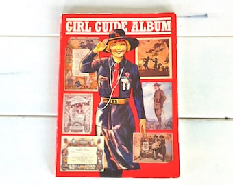 Girl Guide Album/Vintage Girl Guide Collectibles/Girl Guide Book/Vintage Girl Guide Book/Girl Guide Memorabilia/Girl Guide Assoc. Book