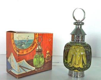 Avon Whale Oil Lantern Decanter Full with Box/Men's Avon Collectibles/Vintage Avon Decanters/Avon Whale Oil Lantern/Avon After Shave Blend 7