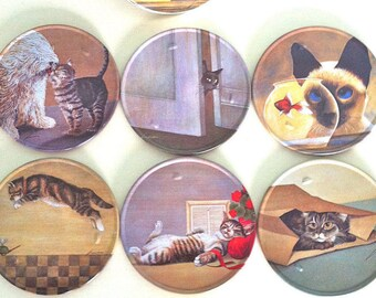 Lowell Herrero chat Collection sous-verres/Vandor L. Herrero/Lowell Herrero Cat impressions/Lowell Herrero chat photos/L. Herrero chat Collection