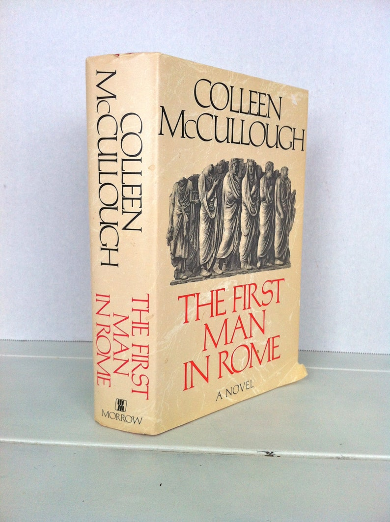 First Man in Rome by McCullough Colleen Hardback Book The Fast Free Shipping