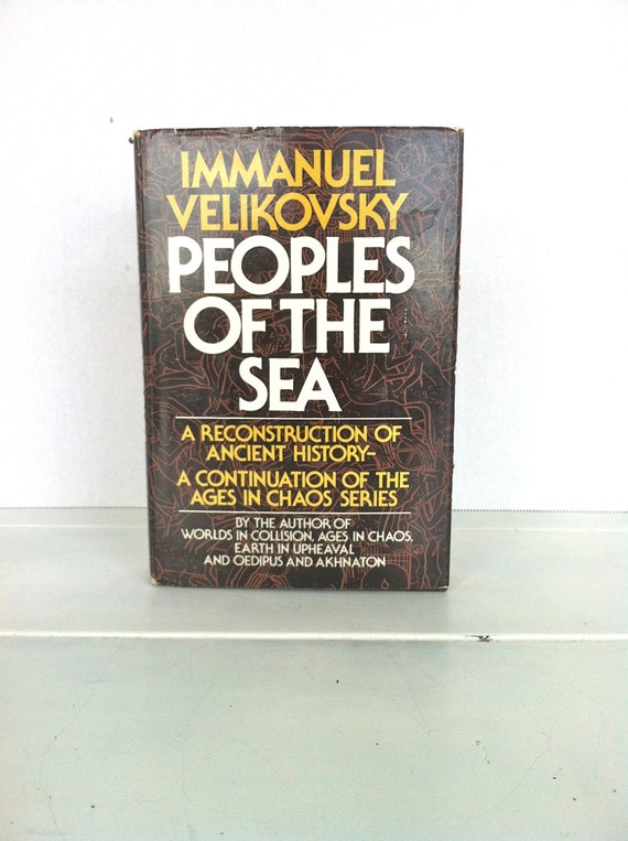 Peoples of the Sea by Velikovsky Immanuel Hardback Book The Fast Free Shipping