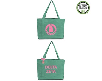 Omega Phi Alpha Sorority Tote Bag with OPhiA Chapter Print ...