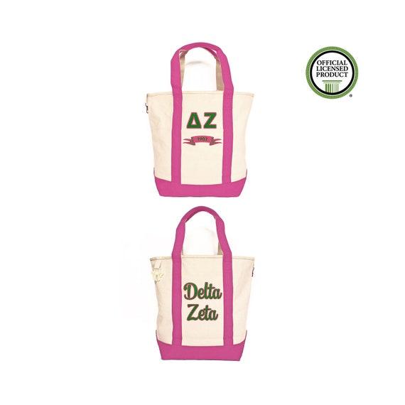 Delta Zeta Since Established Tote bag