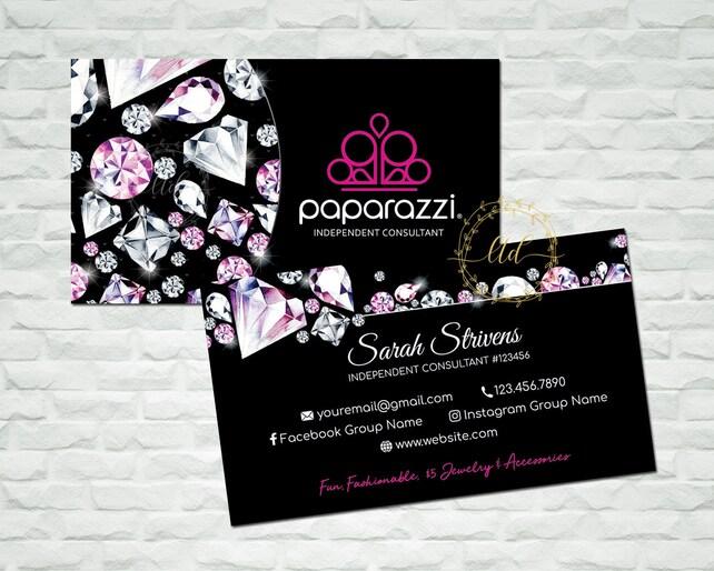 Paparazzi Business Cards Paparazzi Business Card Paparazzi