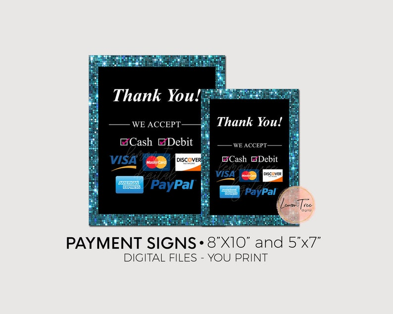 picture relating to Free Printable Credit Card Signs called Rate Signal, Cost Approach Signal, Credit rating Card indicator, Electronic Signs or symptoms Obtain, Supplier Party Demonstrates, Signal for a desk, Teal, Glitter, PP28