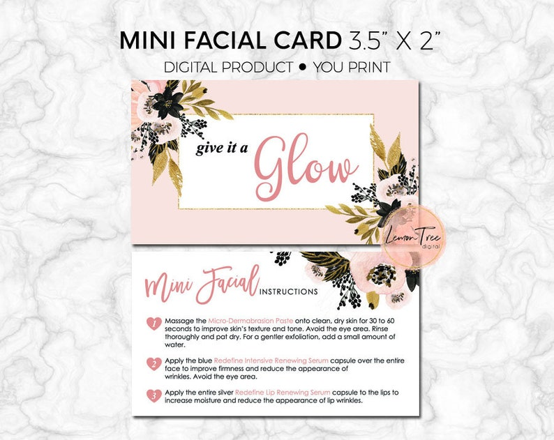 Give it a glow rodan and fields instructions