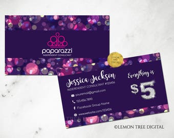 Paparazzi business cards free personalized paparazzi jewelry paparazzi business cards free personalized paparazzi jewelry consultant cardglitter purple colourmoves