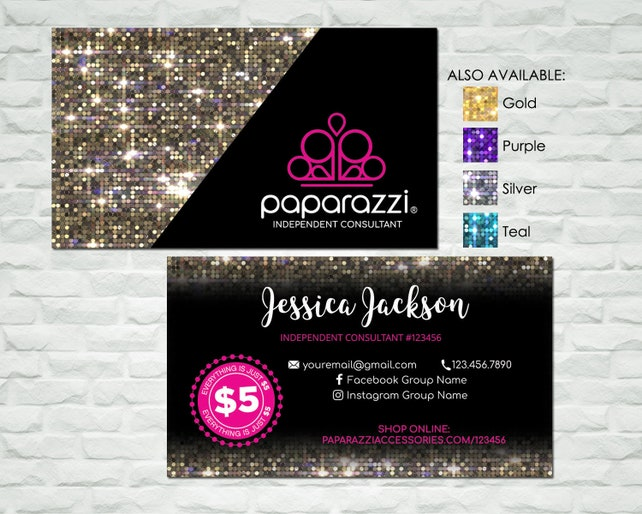 graphic relating to Paparazzi Printable Numbers referred to as Printable Paparazzi Business enterprise Card - Paparazzi customized card