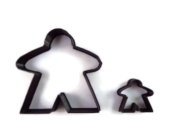 Meeple Cookie Cutter - Board Game Fondant Cutter - Meeple Cupcake Topper