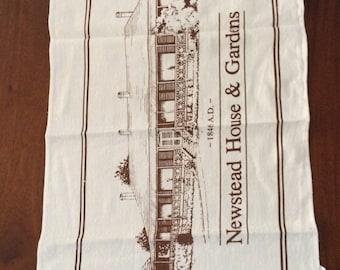 Linen & Cotton Tea Towel - Newstead House, Brisbane 1846
