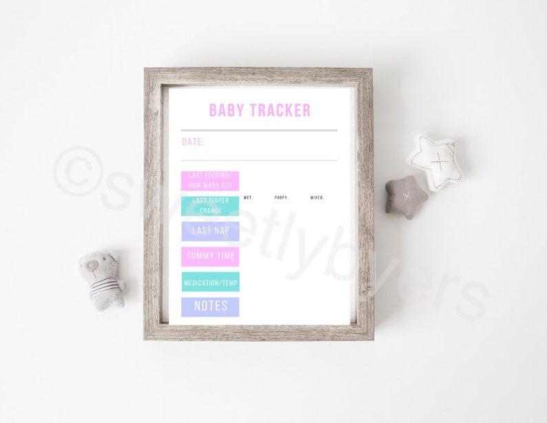 Baby Tracking Printable
