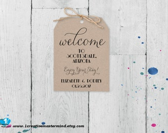 DIY Wedding Door Hanger Template Newlyweds Guest Door Hanger - Editable door hanger template