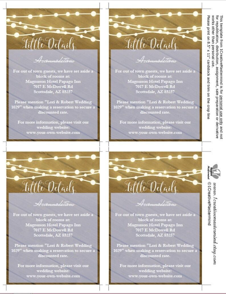 Instant Download Mason Jar Printable Invitation DIY Wedding Invitation Template Stringing Lights Rustic Invitation Rustic Wedding