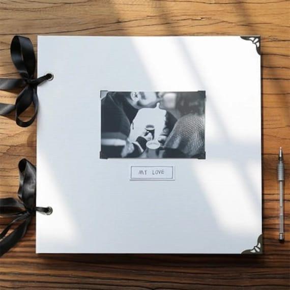 Personalised familia libro de chatarra álbum de fotos libro de recuerdo WOD-6