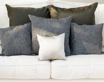 Champagne Cushion, Bedroom Cushion, Champagne Pillow, Silver Throw Pillow, Accent Cushion, Metallic Pillow, Scandinavian Cushion