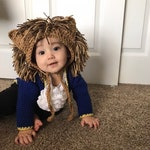 Beast Costume, Crochet Beast Outfit, Disneys Princess Dress, Beauty and the Beast Birthday, Disney Beauty and The Beast, Newborn Photo Prop