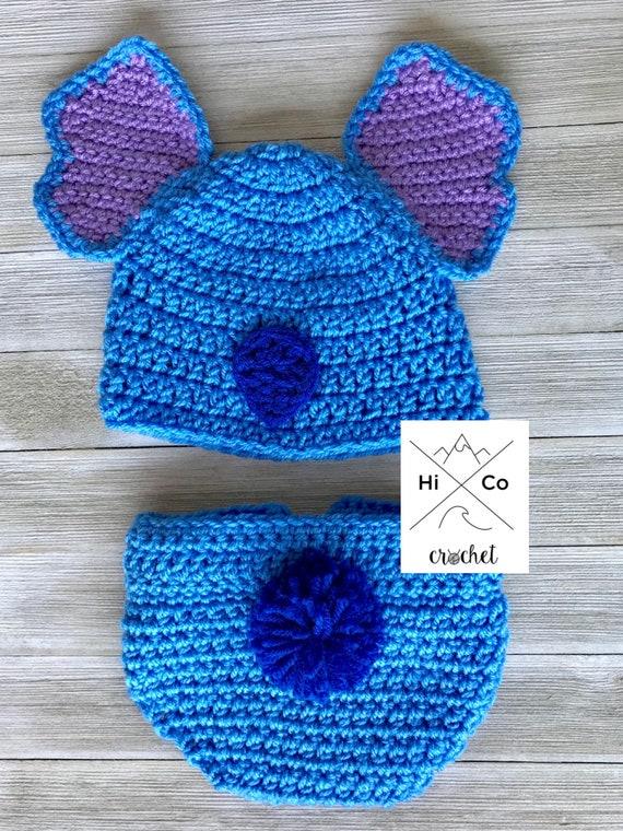 Stitch Baby Set Lilo And Stitch Costume Halloween Baby Set Etsy
