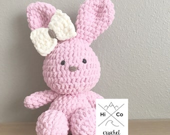 Super Soft Plush Bunny, Crocheted Bunny, Bunny Plushie Doll, Easter Gift, Easter Bunny, Amigurumi Bunny, Easter Plush Blunny