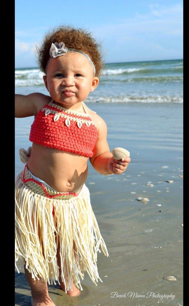 f049f8d69f77 Baby Moana Outfit Baby Moana Costume Moana Birthday Party | Etsy