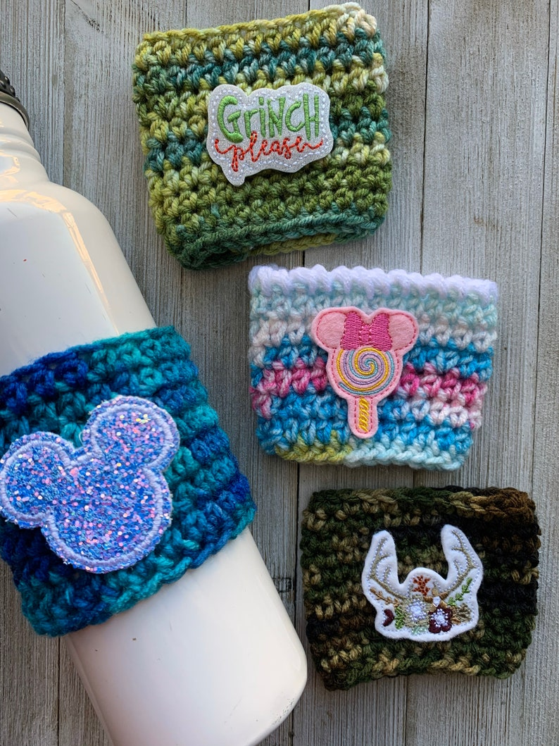 Cup Cozy Disney Inspired Cup Cozy Universal Cup Cozie image 0