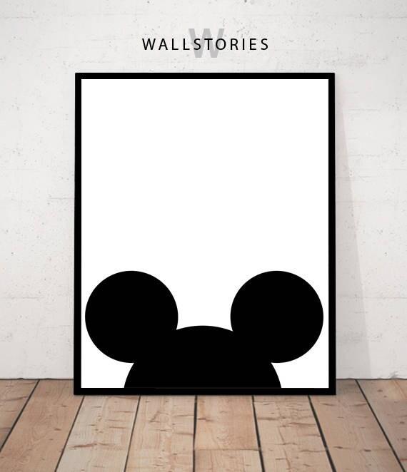 Poster de Mickey Mouse mickey mouse imprimir imprimibles de | Etsy