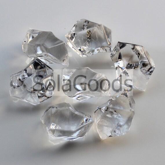 50100200 Vase Filler Plastic Faux Gems Jewelry Stone Bead Etsy