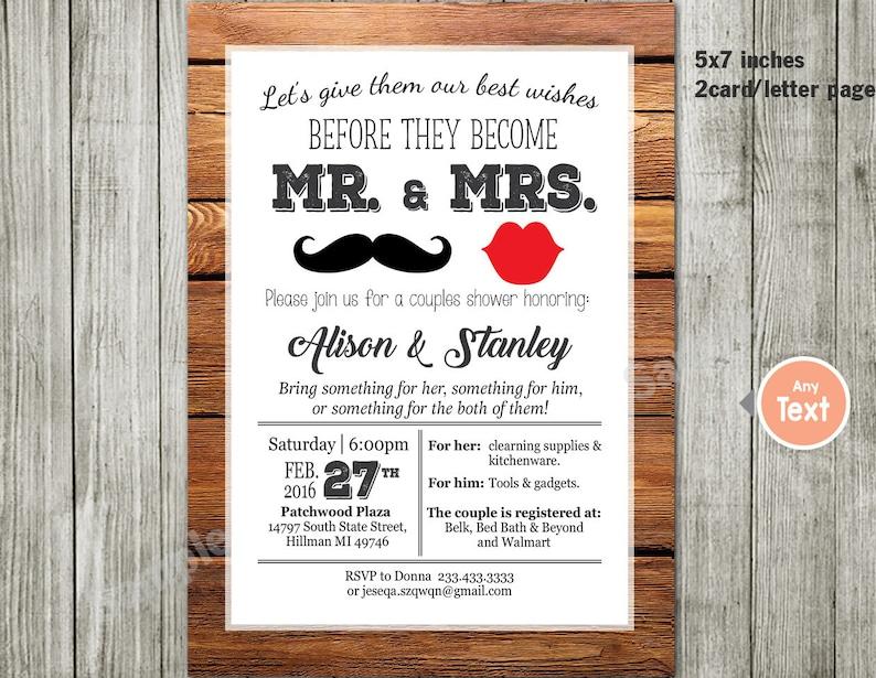 Couples or Coed Bridal Shower Printable Invitation-I Do BBQ, Chalkboard,  Mason Jar, Wedding Couples invitation couples party
