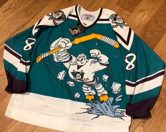 sports shoes 3d544 73b04 Mighty ducks jersey | Etsy