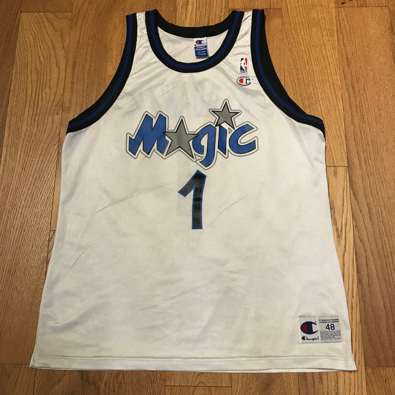 0cfee5648 Vintage Penny Hardaway Orlando Magic Basketball Jersey NBA