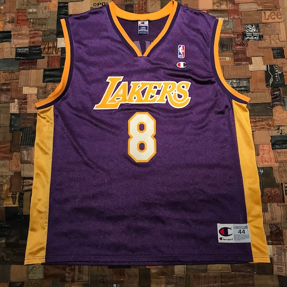 2cb124e769c Vintage Kobe Bryant Los Angeles Lakers Basketball Jersey