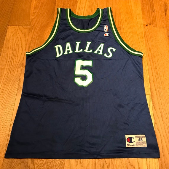 Vintage Jason Kidd Dallas Mavericks Basketball Jersey NBA  81cf7ae24