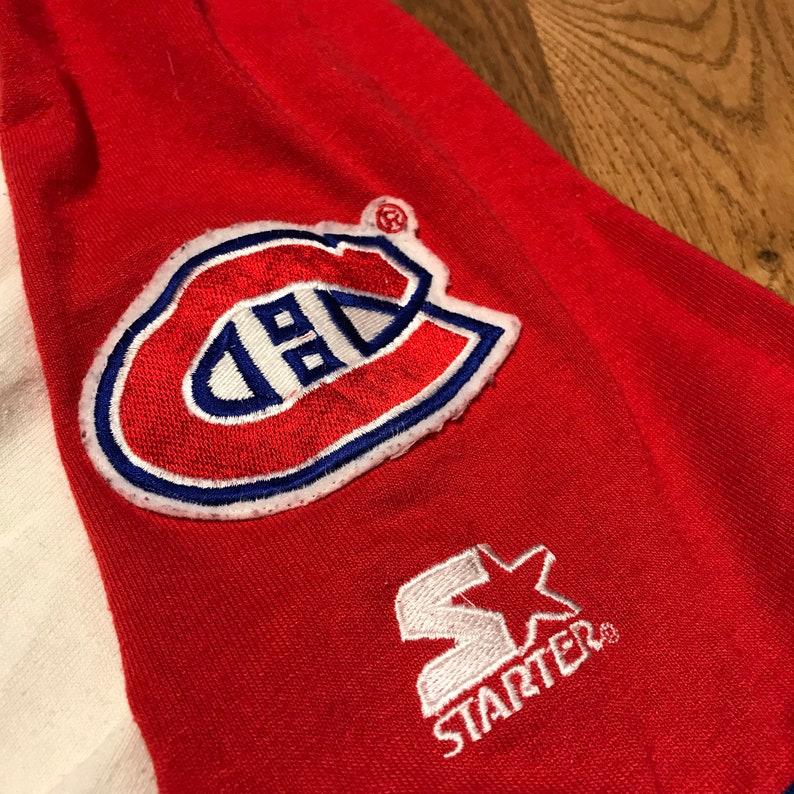 Vintage Montreal Canadiens Baseball Jersey Script NHL Hockey  5634c12b6