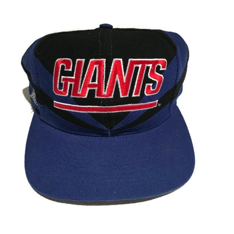 29cc9c7ed89 Vintage New York Giants Snapback Hat Adjustable NFL Football