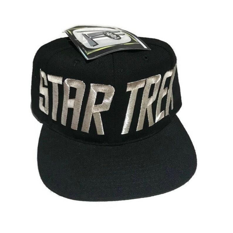 38360e1d Vintage Star Trek Toon Blockhead Snapback Hat Adjustable Space | Etsy