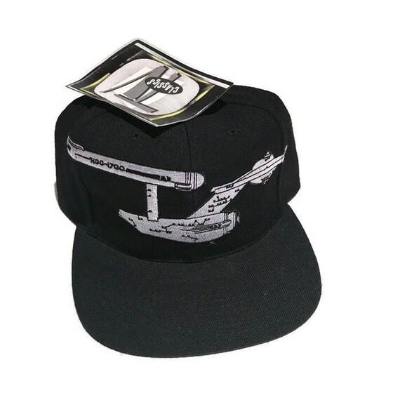 Vintage Star Trek Toon Blockhead Snapback Hat Adjustable 90s Rare American  Needle NEW Tags 9002480666f