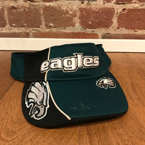 1c46dc096bc Philadelphia Eagles Visor Hat Adjustable NFL Football