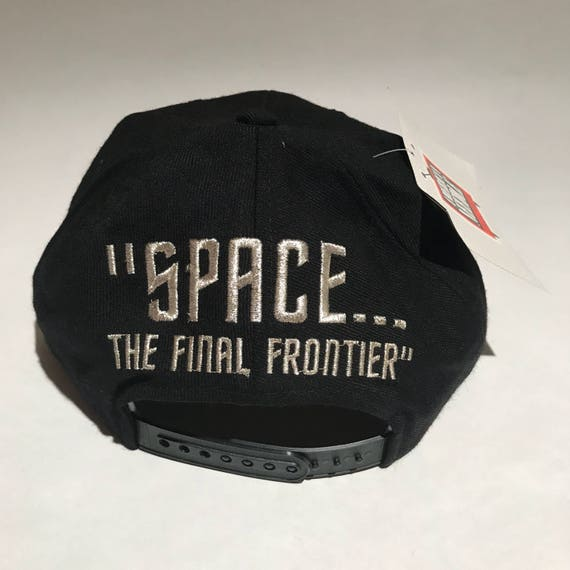 Vintage Star Trek Toon Blockhead Snapback Hat Adjustable Space  f3542dc2d97c